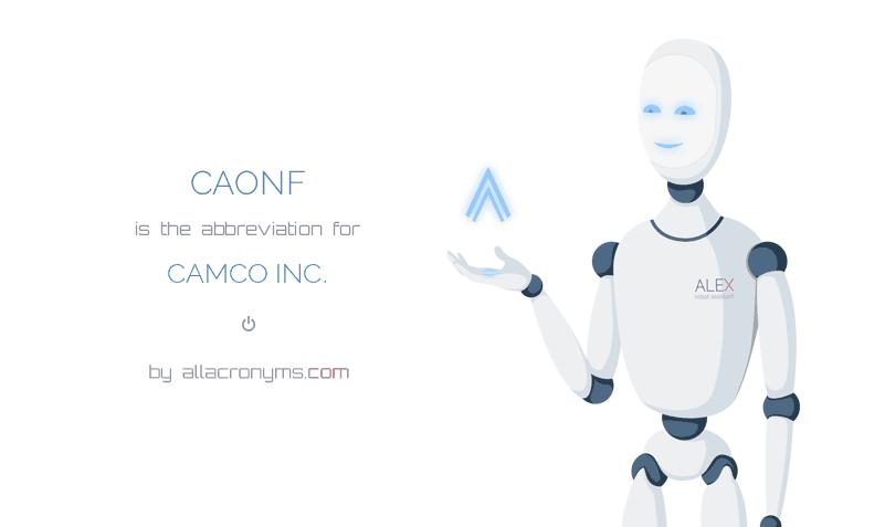 Caonf Camco Inc