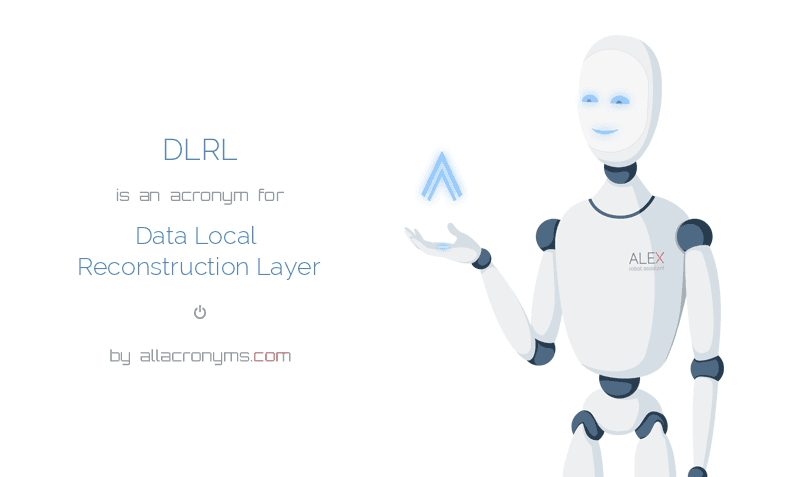 DLRL is  an  acronym  for Data Local Reconstruction Layer