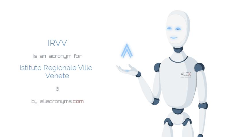 Istituto Regionale Ville Venete.Irvv Istituto Regionale Ville Venete
